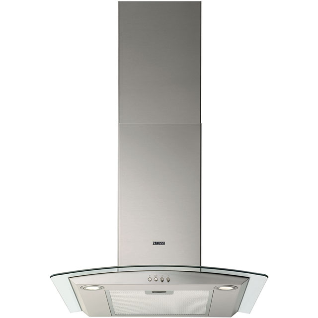 Zanussi ZHC6235X 60 cm Chimney Cooker Hood - Stainless Steel - C Rated