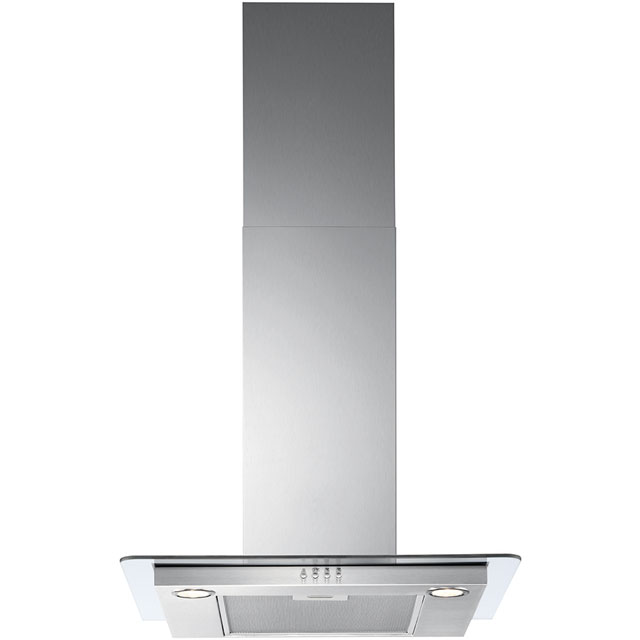 Zanussi ZHC62652XA 60 cm Chimney Cooker Hood - Stainless Steel - B Rated - ZHC62652XA_SS - 1