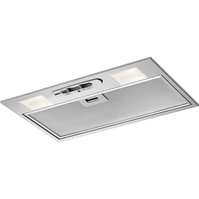 Zanussi ZHG51251G 52 cm Canopy Cooker Hood - Grey - D Rated - ZHG51251G_GY - 1