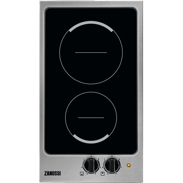 Zanussi ZHTN320X Built In Ceramic Hob - Stainless Steel - ZHTN320X_SS - 1