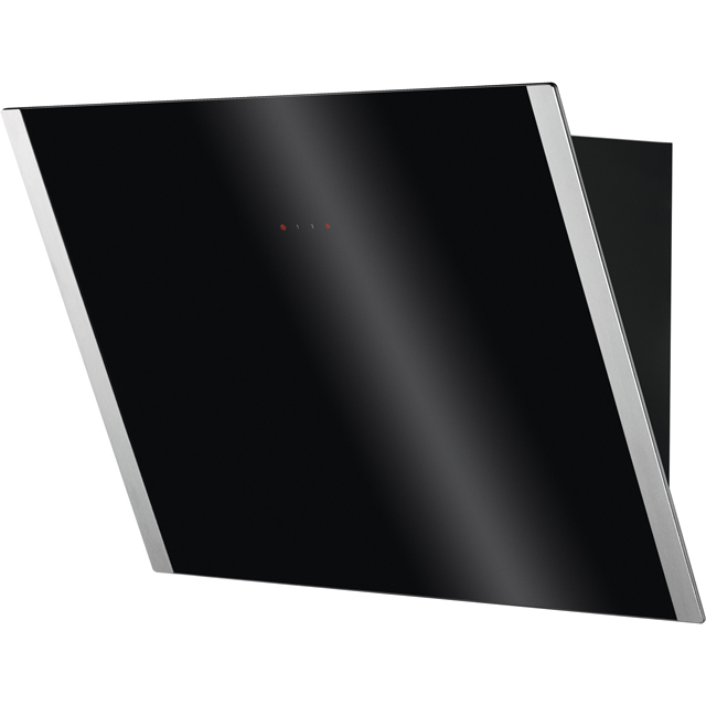 Zanussi ZHV64750BA Built In Chimney Cooker Hood - Black Glass - ZHV64750BA_BKG - 3