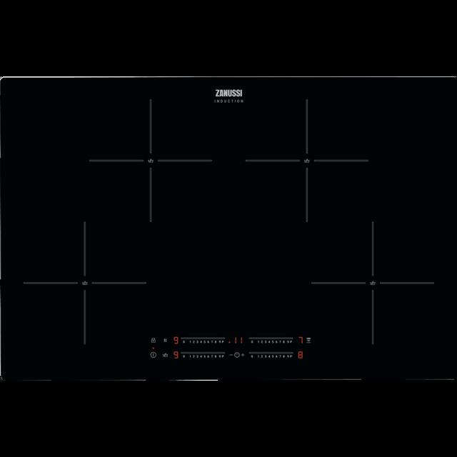 Zanussi ZIAN844K 78cm Induction Hob – Black