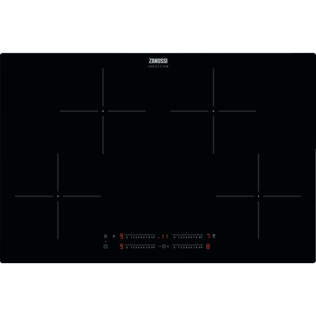 Zanussi ZITN844K Built In Induction Hob - Black - ZITN844K_BK - 1