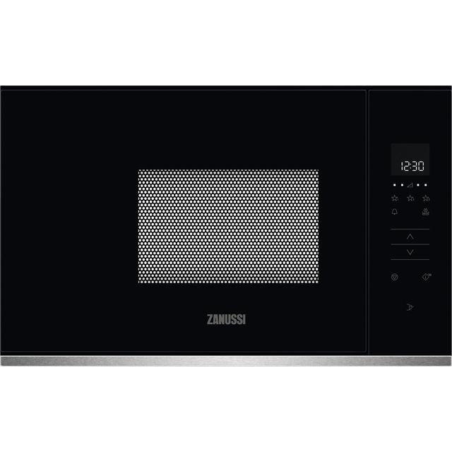 Zanussi ZMBN2SX Built In Microwave - Stainless Steel - ZMBN2SX_SS - 1