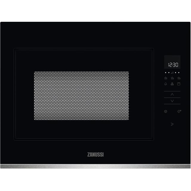 Zanussi ZMBN4DX Built In Microwave With Grill - Black