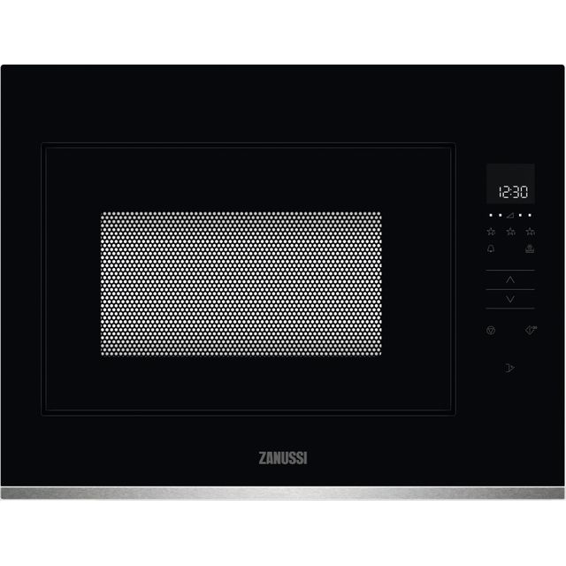 Zanussi ZMBN4SX Built In Microwave - Black / Stainless Steel - ZMBN4SX_SS - 1