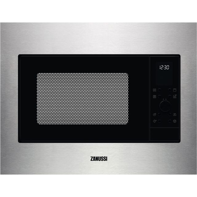Zanussi ZMSN4CX Built In Combination Microwave Oven - Stainless Steel - ZMSN4CX_SS - 1