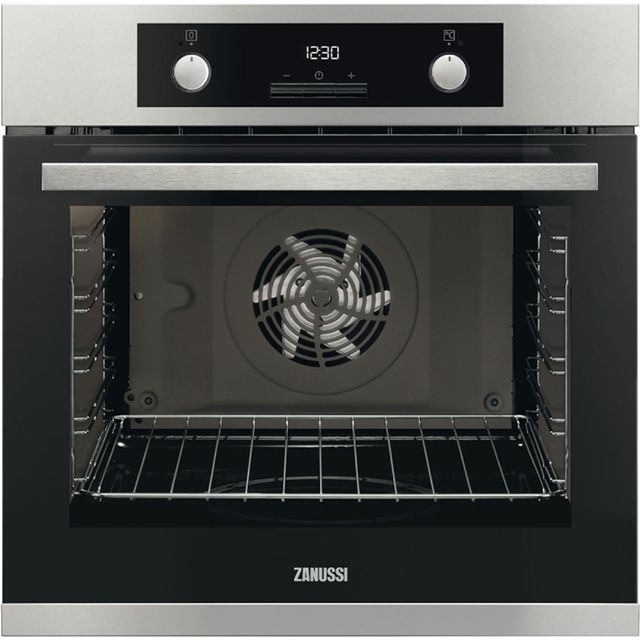 Zanussi ZOA35972XK Built In Electric Single Oven - Stainless Steel - ZOA35972XK_SS - 1