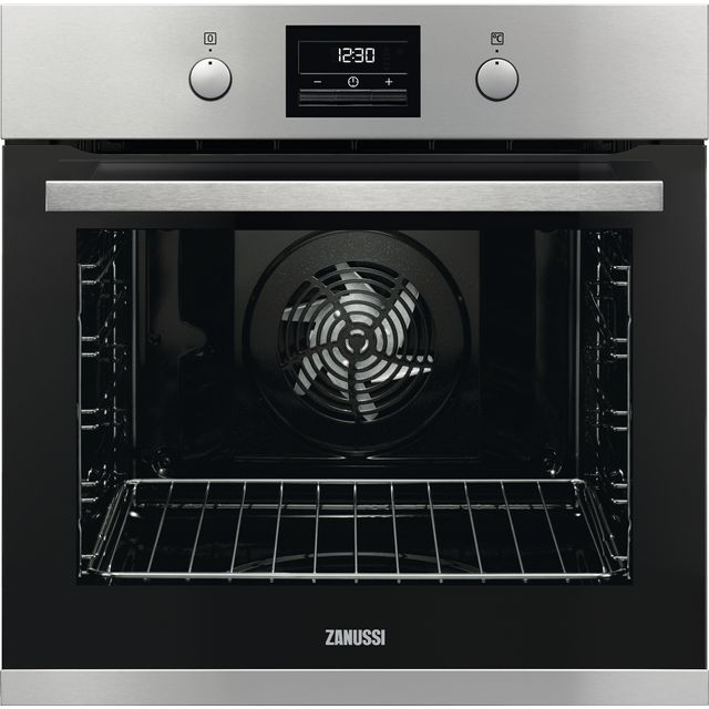 Zanussi ZOP37982XK Built In Electric Single Oven - Stainless Steel - ZOP37982XK_SS - 1