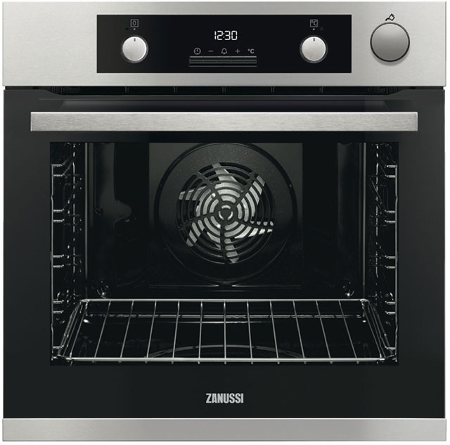 Zanussi ZOS37972XK Integrated Single Oven in Stainless Steel