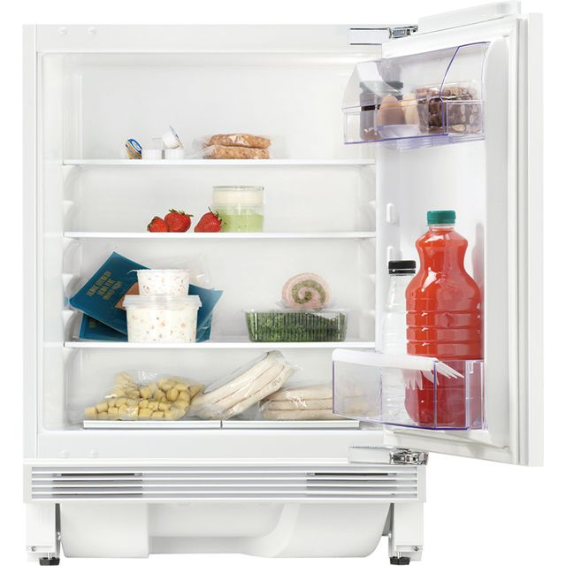 Zanussi ZQA14031DV Built Under Fridge - White - ZQA14031DV_WH - 1