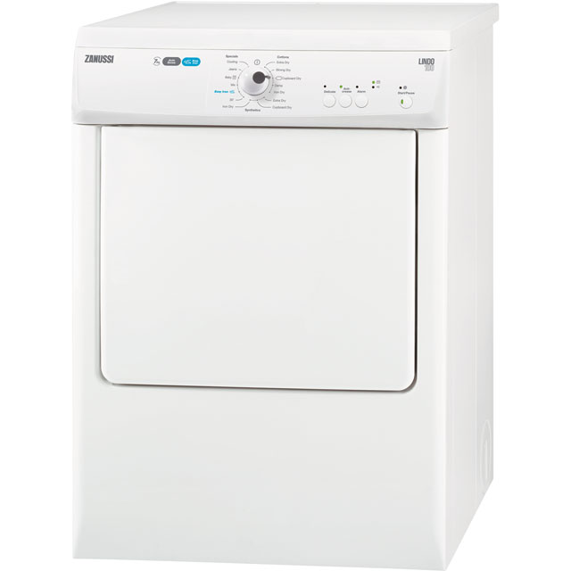 Zanussi Free Standing Vented Tumble Dryer in White