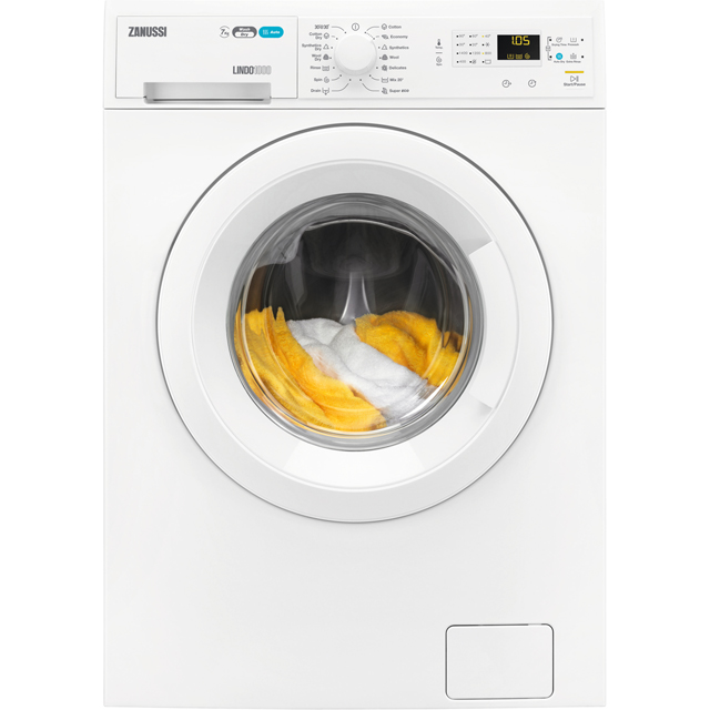 Zanussi Lindo1000 ZWD71460NW 7Kg / 4Kg Washer Dryer with 1400 rpm - White - B Rated