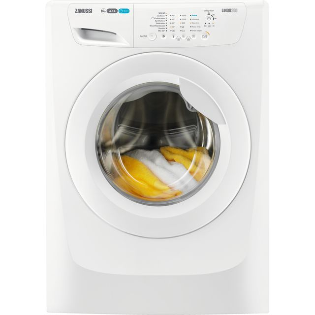 Zanussi Lindo300 ZWF01280W 10Kg Washing Machine with 1200 rpm - White - A+++ Rated - ZWF01280W_WH - 1