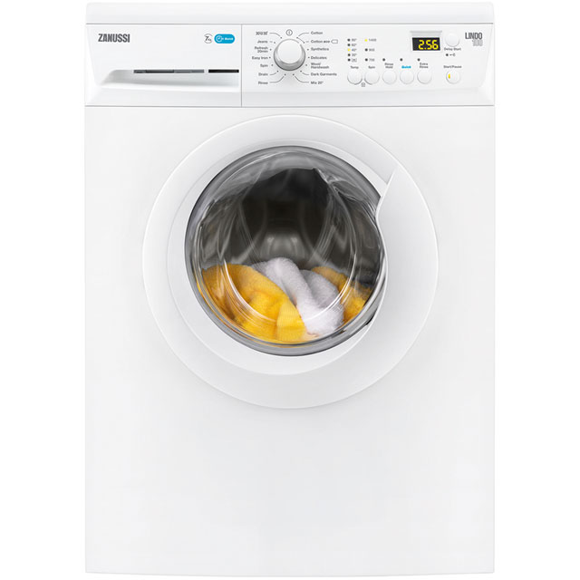 Zanussi Lindo100 7Kg Washing Machine - White - A+++ Rated