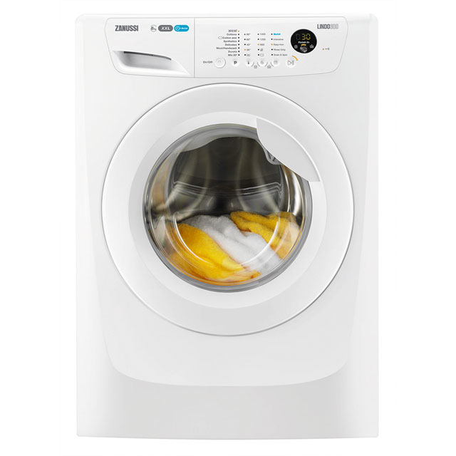 Zanussi Lindo300 8Kg Washing Machine - White - A+++ Rated