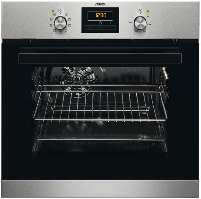 Zanussi ZZB35901XC Electric Single Oven Stainless Steel