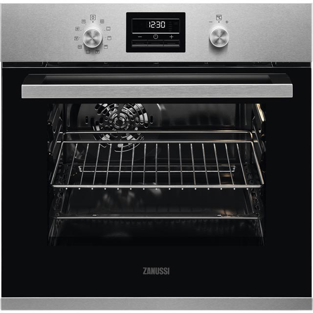 Zanussi ZZP35901XK Built In Electric Single Oven - Stainless Steel - A Rated - ZZP35901XK_SS - 1