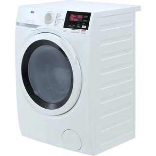 AEG DualSense Technology L7WEG841R Washer Dryer - White - L7WEG841R_WH - 5
