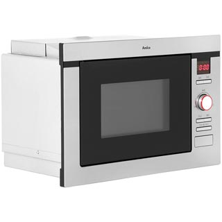 Amica AMM25BI Built In Microwave - Stainless Steel - AMM25BI_SS - 3