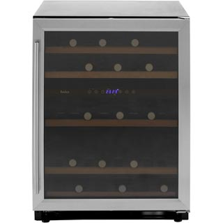 Amica AWC600SS Wine Cooler - Stainless Steel - AWC600SS_SS - 1