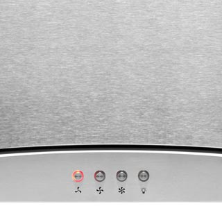 Amica OKP9321G Built In Chimney Cooker Hood - Stainless Steel - OKP9321G_SS - 2