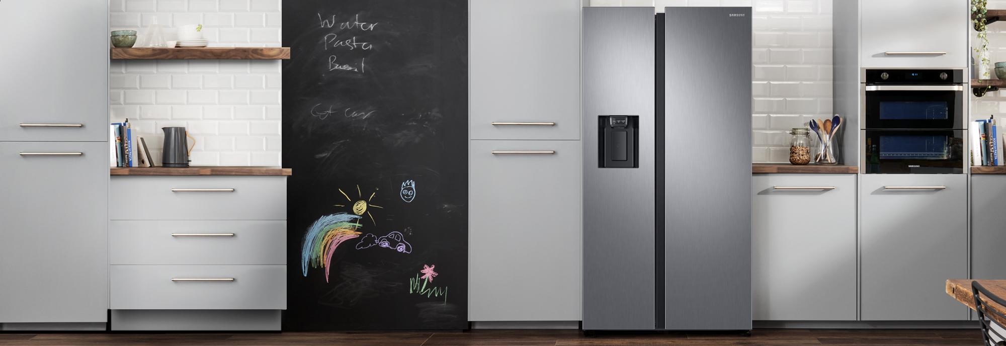 Samsung Rs8000 Rs68n8240s9 American Fridge Freezer Matte