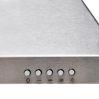 Baumatic BECH60X Built In Chimney Cooker Hood - Stainless Steel - BECH60X_SS - 2