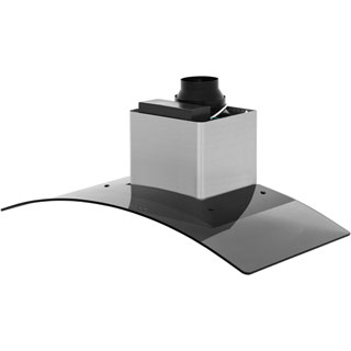 Baumatic BT10.3BGL Built In Chimney Cooker Hood - Black - BT10.3BGL_BK - 4