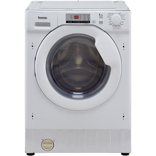 Baumatic BWDI1485D Integrated 8Kg / 5Kg Washer Dryer with 1400 rpm - BWDI1485D_WH - 2