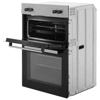Beko BRDF21000X Built In Electric Double Oven - Stainless Steel - BRDF21000X_SS - 4