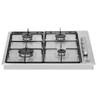 Beko HIZG64120SW Built In Gas Hob - White - HIZG64120SW_WH - 5