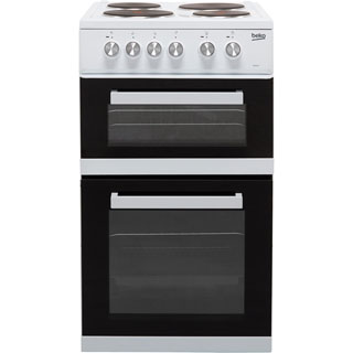 Beko KD532AW Electric Cooker - White - KD532AW_WH - 1