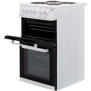Beko KD532AW Electric Cooker - White - KD532AW_WH - 3