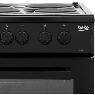 Beko KD533AK Electric Cooker - Black - KD533AK_BK - 5