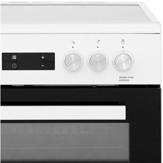 Beko KDC653W Electric Cooker - White - KDC653W_WH - 5