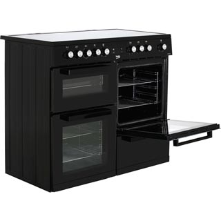 Beko KDVC100K Electric Range Cooker - Black - KDVC100K_BK - 4