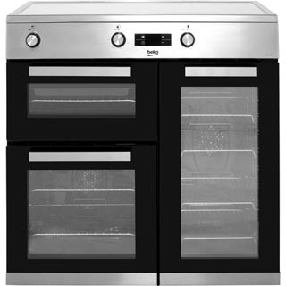 Beko KDVI90X Electric Range Cooker - Stainless Steel - KDVI90X_SS - 1