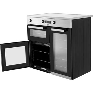 Beko KDVI90X Electric Range Cooker - Stainless Steel - KDVI90X_SS - 3