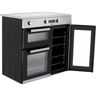 Beko KDVI90X Electric Range Cooker - Stainless Steel - KDVI90X_SS - 4