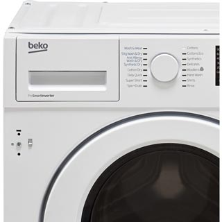 Beko WDIY854310F Built In Washer Dryer - White - WDIY854310F_WH - 3