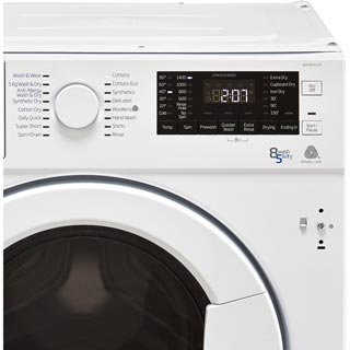 Beko WDIY854310F Built In Washer Dryer - White - WDIY854310F_WH - 4