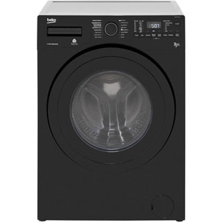 Beko WDR7543121B 7Kg / 5Kg Washer Dryer with 1400 rpm - Black - WDR7543121B_BK - 1