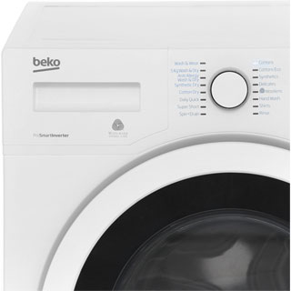 Beko WDR7543121B 7Kg / 5Kg Washer Dryer with 1400 rpm - Black - WDR7543121B_BK - 3