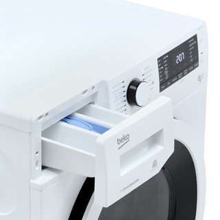 Beko WDR8543121W Washer Dryer - White - WDR8543121W_WH - 4