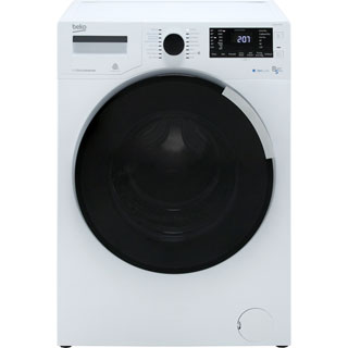 Beko WDR854P14N1W Washer Dryer - White - WDR854P14N1W_WH - 1