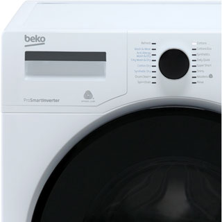 Beko WDR854P14N1W Washer Dryer - White - WDR854P14N1W_WH - 2