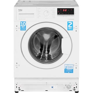 Beko WIR76540F1 Integrated 7Kg Washing Machine with 1600 rpm - A+++ Rated - WIR76540F1_WH - 3