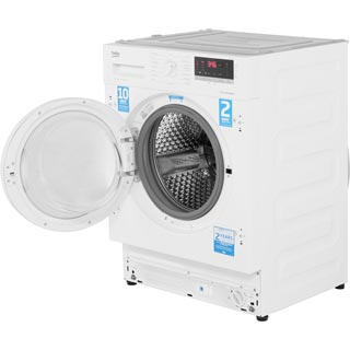 Beko WIR76540F1 Integrated 7Kg Washing Machine with 1600 rpm - A+++ Rated - WIR76540F1_WH - 4