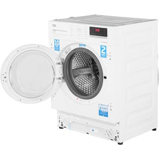 Beko WIR86540F1 Integrated 8Kg Washing Machine with 1600 rpm - A+++ Rated - WIR86540F1_WH - 3